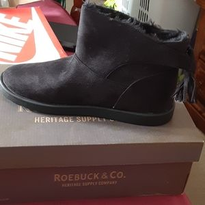 Size 10 Black womens booties